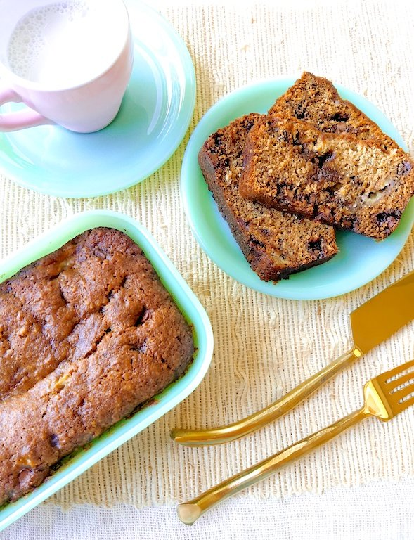 Banana Graham Bread