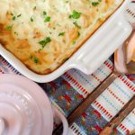 Mashed Potato Bake with Mozzarella and Parmesan