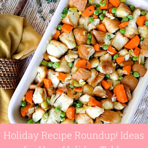 Holiday Recipe Roundup!  Ideas for Your Holiday Table