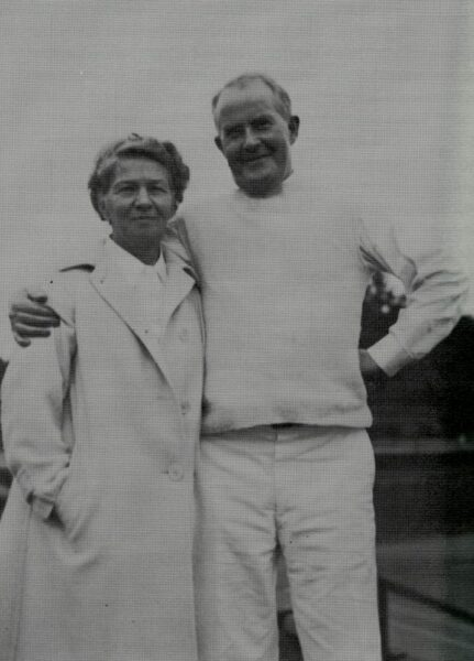 Thomas Norval Hepburn and Katharine Houghton